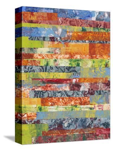 Monoprint Collage IV-Regina Moore-Stretched Canvas Print