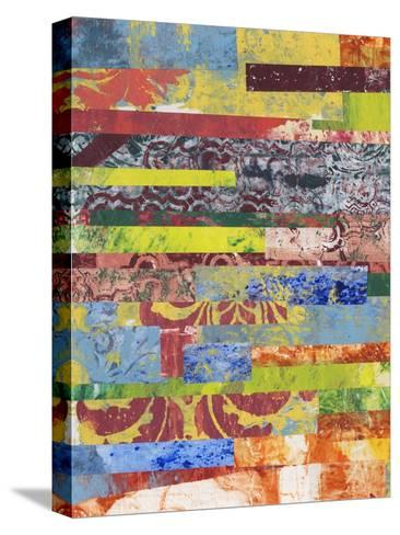 Monoprint Collage I-Regina Moore-Stretched Canvas Print