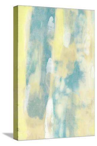 Turquoise Transparency I-Jennifer Goldberger-Stretched Canvas Print