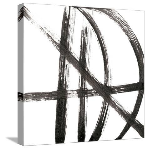 Linear Expression VIII-J^ Holland-Stretched Canvas Print