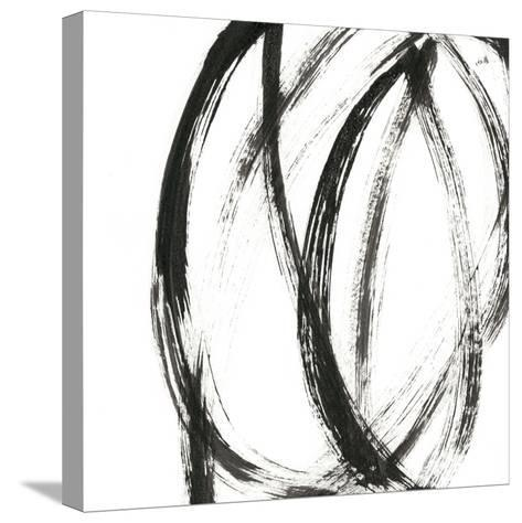 Linear Expression IX-J^ Holland-Stretched Canvas Print