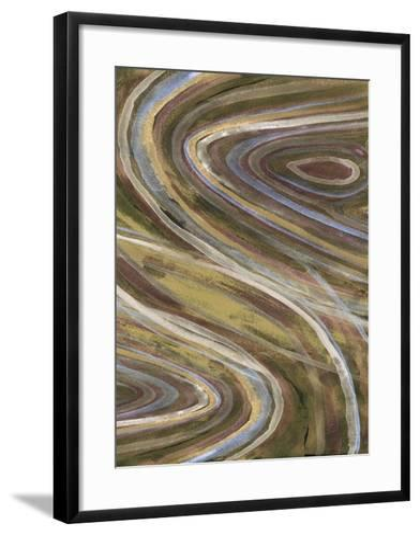 Mineral Overlay I-Alicia Ludwig-Framed Art Print