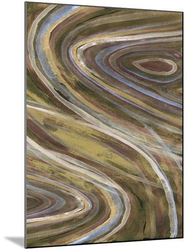 Mineral Overlay I-Alicia Ludwig-Mounted Art Print