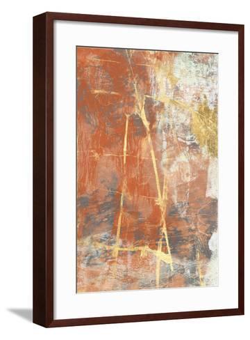 Terre Cotta Lace II-Jennifer Goldberger-Framed Art Print