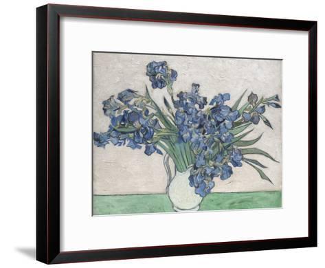 Irises-Vincent van Gogh-Framed Art Print