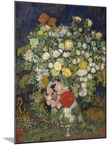Bouquet of Flowers in a Vase-Vincent van Gogh-Mounted Art Print
