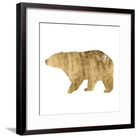 Brushed Gold Animals II-Grace Popp-Framed Art Print