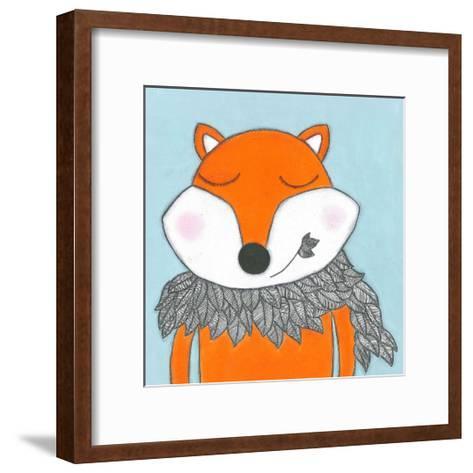 Super Animal - Fox-Tatijana Lawrence-Framed Art Print
