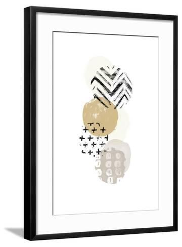 Circular Synergy I-June Vess-Framed Art Print