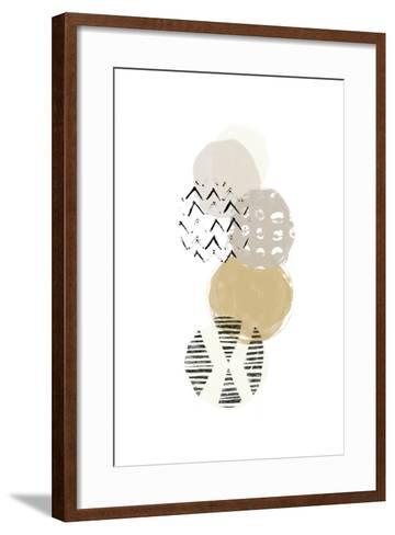 Circular Synergy II-June Vess-Framed Art Print