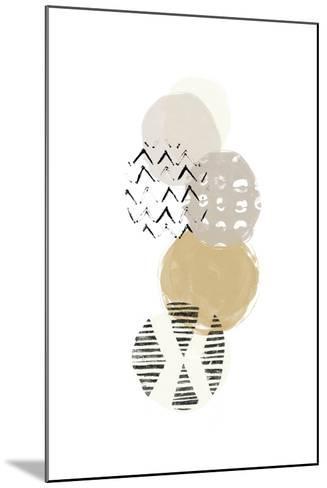 Circular Synergy II-June Vess-Mounted Art Print