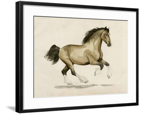 Clydesdale I-Grace Popp-Framed Art Print