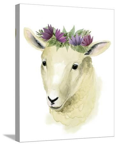 Precious Barnyard IV-Grace Popp-Stretched Canvas Print