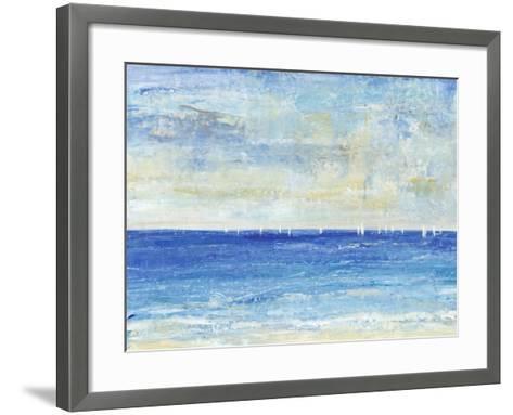 A Perfect Day to Sail I-Tim OToole-Framed Art Print