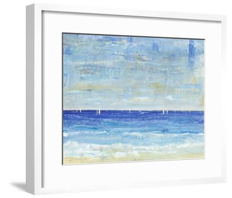 A Perfect Day to Sail II-Tim OToole-Framed Art Print