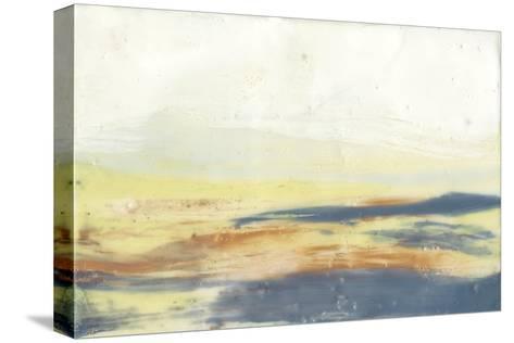 Bronze Horizon I-Jennifer Goldberger-Stretched Canvas Print