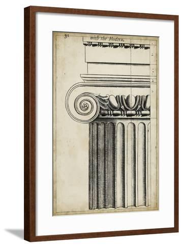 Architectural Composition I-Vision Studio-Framed Art Print