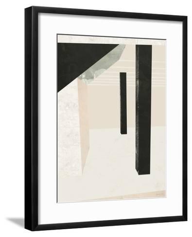 Outside In II-Green Lili-Framed Art Print