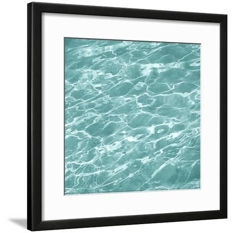 Ripple II-Chariklia Zarris-Framed Art Print