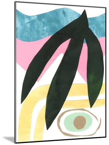 South Beach IV-Renee W^ Stramel-Mounted Art Print