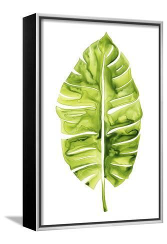 Banana Leaf Study I-Grace Popp-Framed Canvas Print