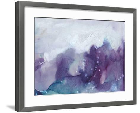 Ice Crystals IV-Joyce Combs-Framed Art Print
