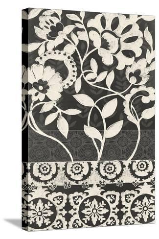 Midnight Batik I-Chariklia Zarris-Stretched Canvas Print