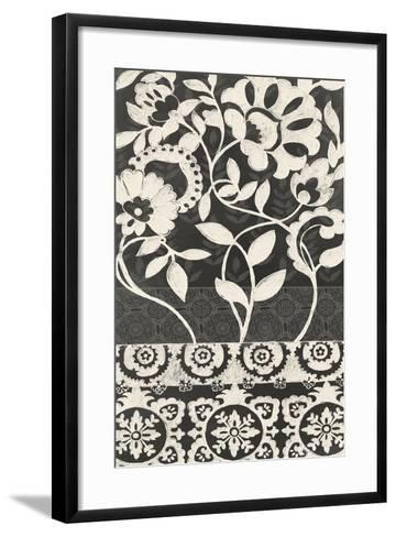 Midnight Batik I-Chariklia Zarris-Framed Art Print