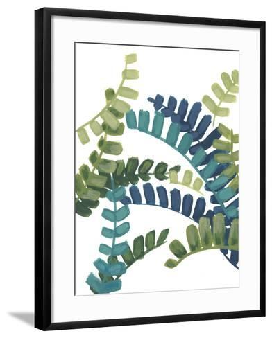 Tropical Thicket III-June Vess-Framed Art Print