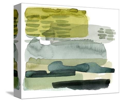 Verdant Stratum II-Grace Popp-Stretched Canvas Print