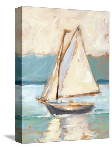 Contemporary Yacht I-Ethan Harper-Stretched Canvas Print