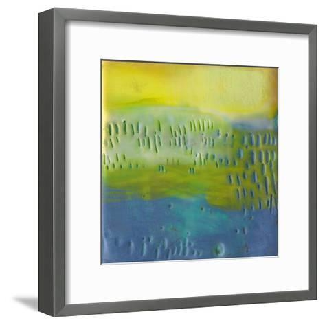 Southern Shores III-Sue Jachimiec-Framed Art Print