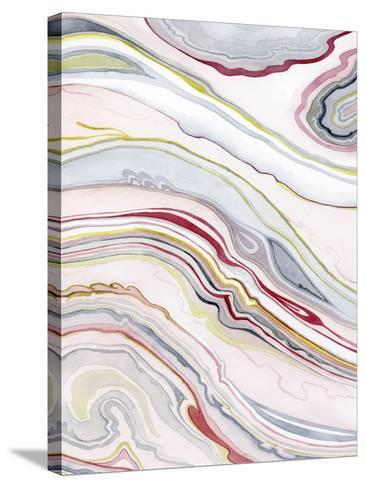 Watercolor Marbling II-Grace Popp-Stretched Canvas Print