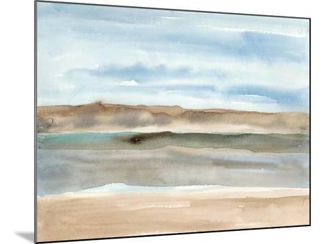 Plein Air Riverscape I-Alicia Ludwig-Mounted Art Print