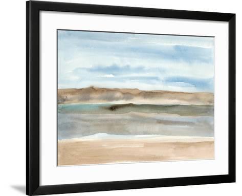 Plein Air Riverscape I-Alicia Ludwig-Framed Art Print