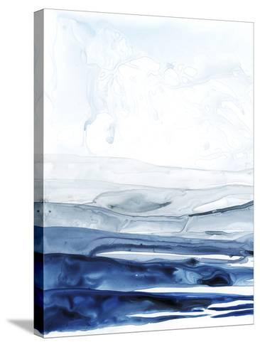 Azure Arctic I-Grace Popp-Stretched Canvas Print