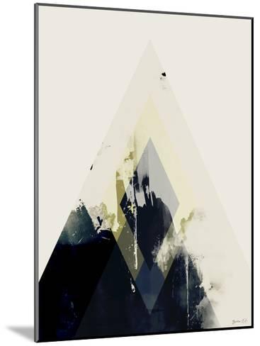 Beneath the Surface II-Green Lili-Mounted Art Print