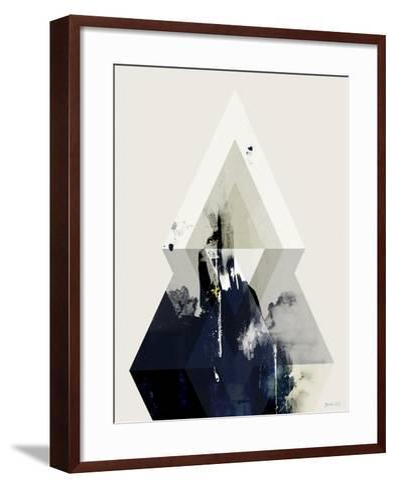 Beneath the Surface III-Green Lili-Framed Art Print