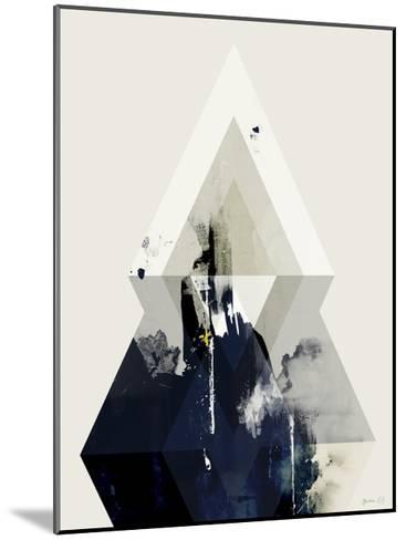Beneath the Surface III-Green Lili-Mounted Art Print