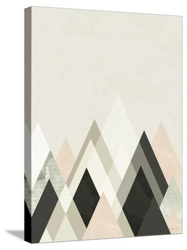 Mountains Beyond Mountains III-Green Lili-Stretched Canvas Print