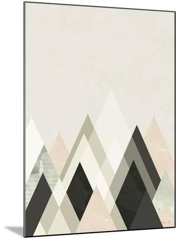 Mountains Beyond Mountains III-Green Lili-Mounted Art Print