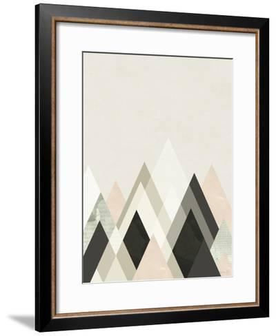 Mountains Beyond Mountains III-Green Lili-Framed Art Print