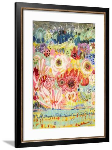 Love to Travel II-Karen  Fields-Framed Art Print