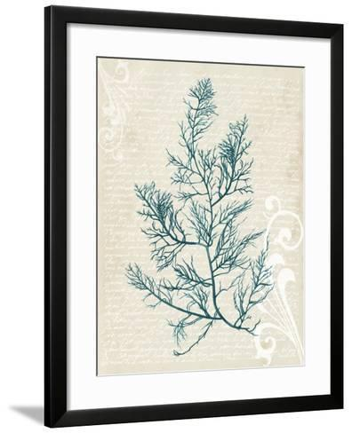 Teal Seaweed I-Grace Popp-Framed Art Print