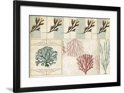 Coastal Patternbook I-Vision Studio-Framed Art Print