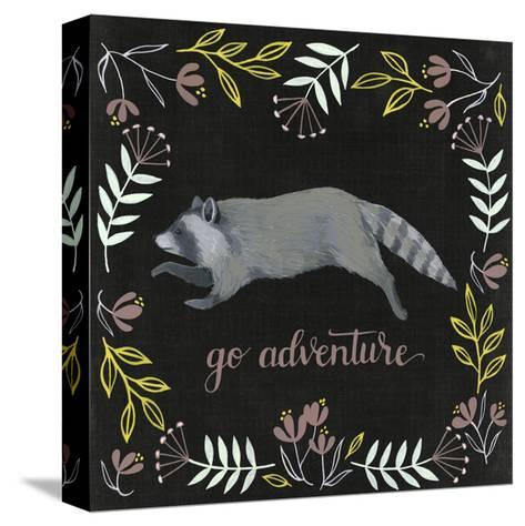 Woodland Adventure III-Grace Popp-Stretched Canvas Print