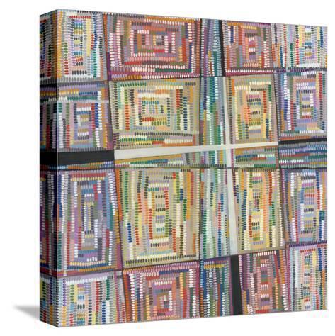 Dot Pattern-Nikki Galapon-Stretched Canvas Print