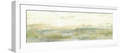 Greenery Horizon Line I-Jennifer Goldberger-Framed Art Print