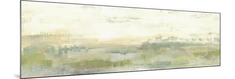 Greenery Horizon Line I-Jennifer Goldberger-Mounted Art Print