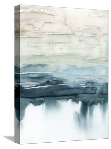 Organic Cascade I-Grace Popp-Stretched Canvas Print